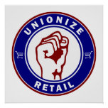 Unionise Retail Poster