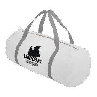 Unions - The people who brought you the Weekend Gym Duffel Bag