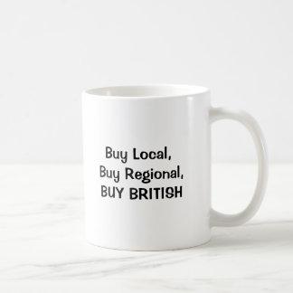 unionuk1, Buy Local, Buy Regional, BUY BRITISH Basic White Mug