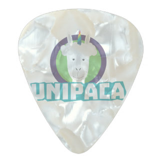Unipaca Unicorn Alpaca Z67aj Pearl Celluloid Guitar Pick