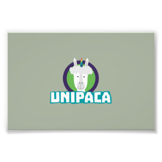 Unipaca Unicorn Alpaca Z67aj Photo Print