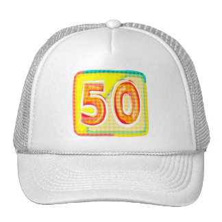 Unique 50th Birthday Gifts Trucker Hats