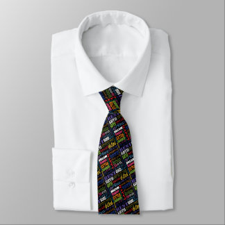 Unique 60th Birthday Party Personalized Gifts Tie