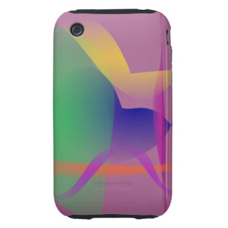 Unique Abstract Design Tough iPhone 3 Case