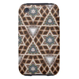 unique abstract pattern iPhone 3 tough cover