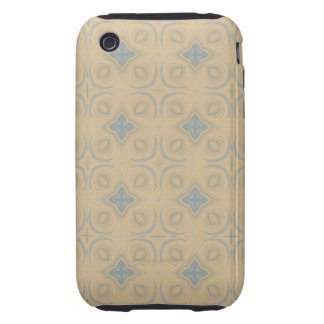 Unique abstract pattern iPhone 3 tough cases