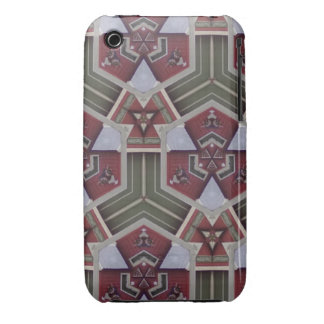 Unique abstract pattern iPhone 3 Case-Mate case