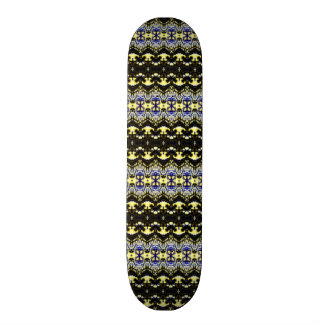 Unique abstract pattern custom skate board