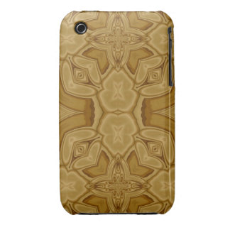 Unique abstract wood pattern iPhone 3 cover