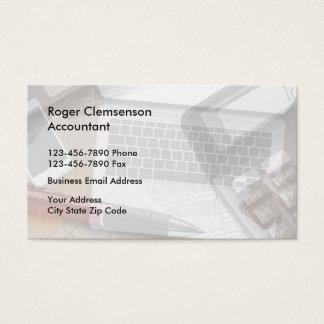 Unique Accountant Businesscards Business Card