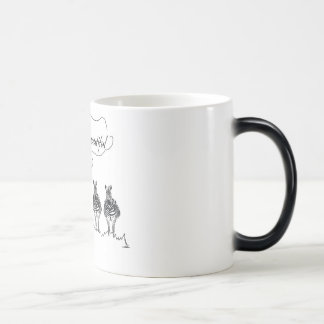 Unique and beautiful magic mug