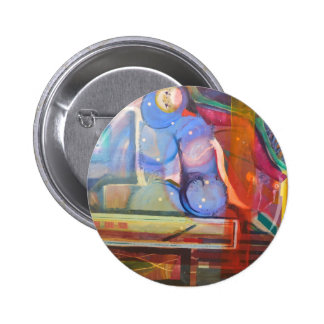 unique and colorful trendy home decor 6 cm round badge