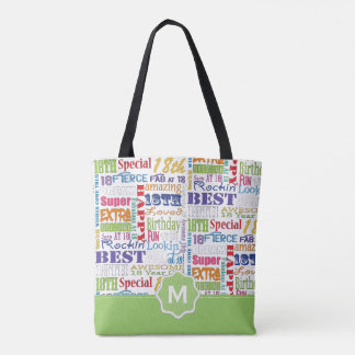 Unique And Special 18th Birthday Party Gifts Tote Bag