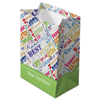 Unique And Special 20th Birthday Party Gifts Medium Gift Bag