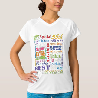 Unique And Special 55th Birthday Party Gifts T-Shirt
