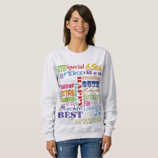 Unique And Special 65th Birthday Party Gifts Sweatshirt