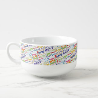 Unique And Special 90th Birthday Party Gifts Soup Mug