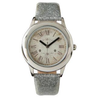 Unique Antique Roman Numeral Vintage Rustic Watch
