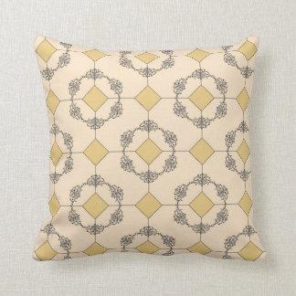 Unique Argyle Pattern Throw Pillow
