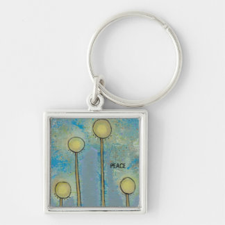 Unique art design fun painting customize your own key chain