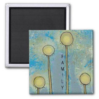 Unique art design fun painting customize your own magnet