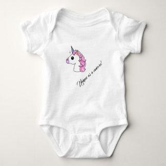 """""""Unique as a unicorn"""" beautiful bodysuit"""