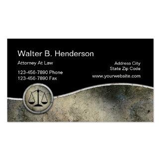 Unique Attorney Business Cards