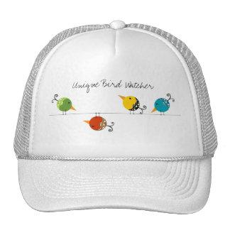 Unique Bird Watcher Cap