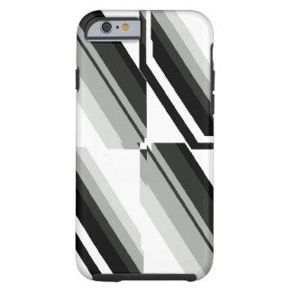Unique Black-and-White Pattern Tough iPhone 6 Case