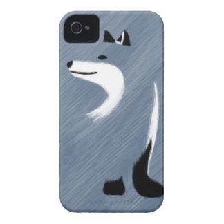 Unique Blue Fox Design Case-Mate iPhone 4 Case