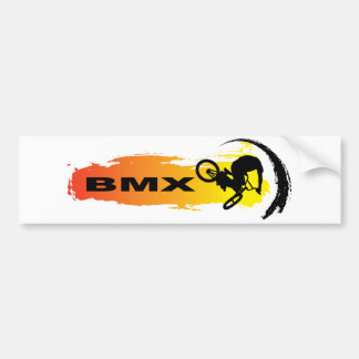 Unique BMX Bumper Sticker