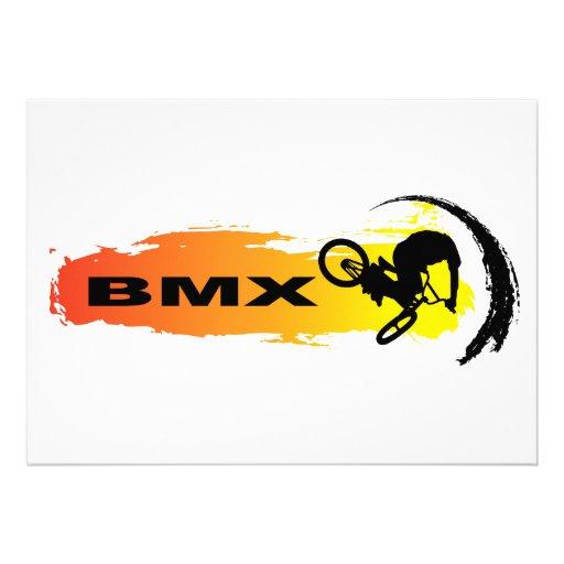 Unique BMX Invitations