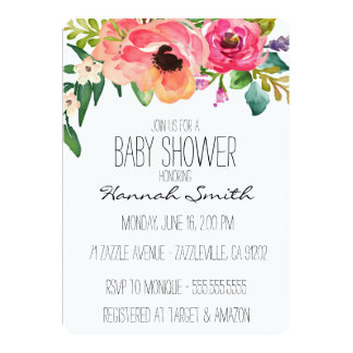 baby shower invitations announcements zazzle au