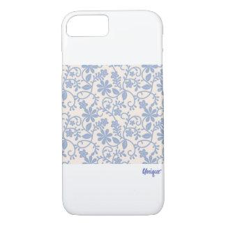 Unique case with romantic floral lace in pastels
