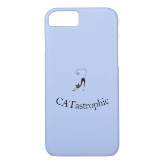 Unique cat design for CATASTROPHIC people! iPhone 8/7 Case