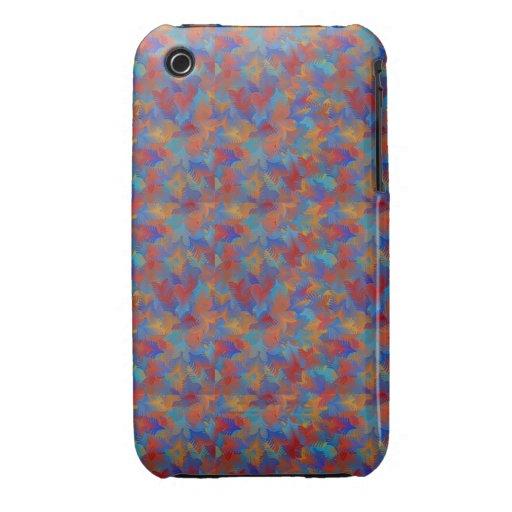 Unique Colorful Digital Art Kalidoscope Art Case-Mate iPhone 3 Case