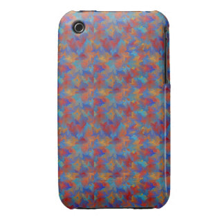 Unique Colorful Digital Art Kalidoscope Art iPhone 3 Case