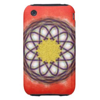 Unique colorful pattern iPhone 3 tough cover