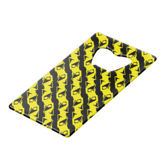 Unique & Cool Black & Bright Yellow Modern Pattern