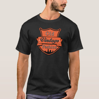 Unique cool black orange Old Vintage  T-Shirt