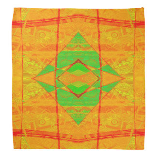 Unique Cool Digital Abstract Pattern Bandana