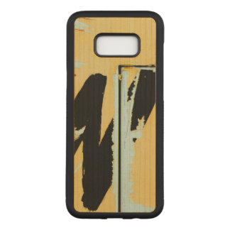 Unique Cool Worn Wall Paper Paint Carved Samsung Galaxy S8+ Case