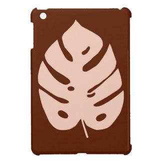 Unique Copper Monstera Tropical Plant Design iPad Mini Cases