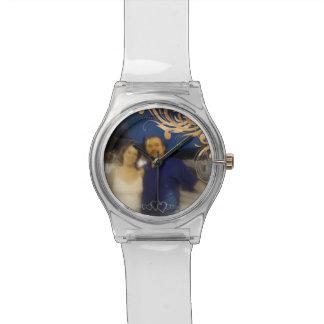 Unique Create Your Own Romantic Couple Photo Wrist Watch
