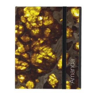 Unique custom gold stone texture iPad 2/3/4 Case iPad Covers