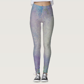 Unique Design Lilac and Purple Leggings