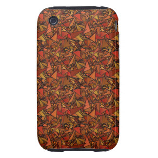 Unique Digital Art Abstract iPhone 3 Tough Cover