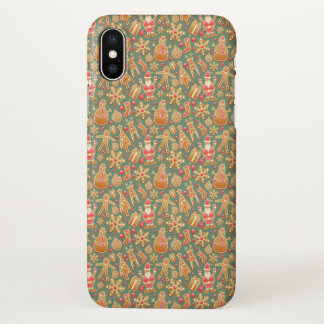 Unique Ditzy Christmas Characters | iPhone X Case