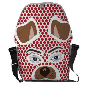 Unique dog filter bag messenger bags