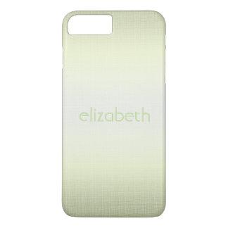 Unique Elegant Simple Personalized Green Minimal iPhone 7 Plus Case